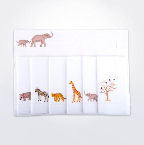 Safari Linen Napkin & Placemat Set