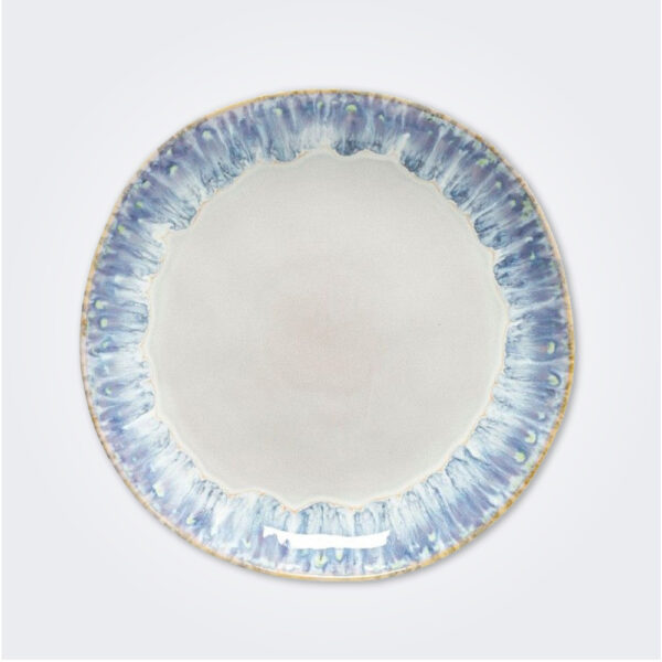Costa Nova dinner plate from Brisa collection.