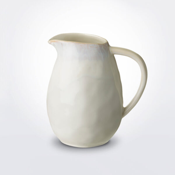 Brisa pitcher on grey background.