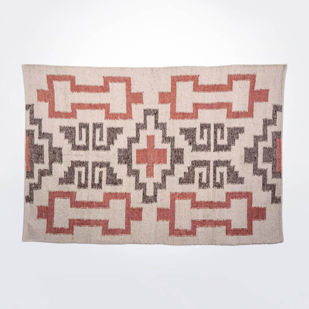 Mayan-gray-and-pink-wool-rug
