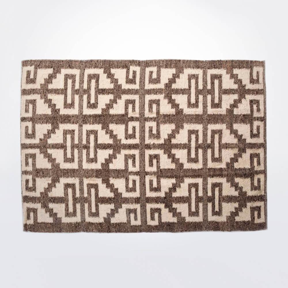 Mayan-light-brown-wool-rug-1