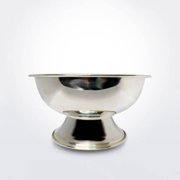 Silver plated bowl small product picture.