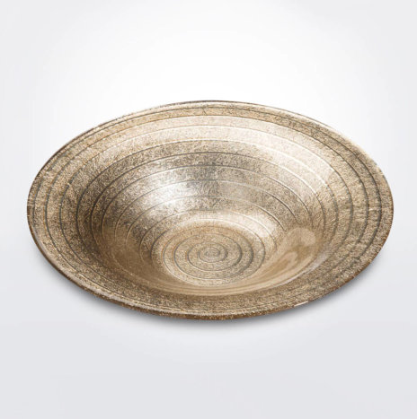 Spiral Sand Decorative Bowl (Large)