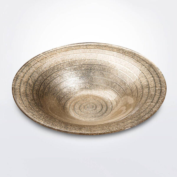 Spiral sand decorative bowl large product picture.