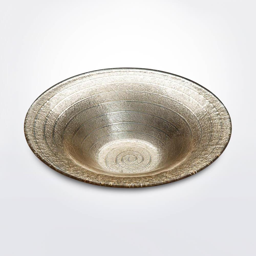Spiral-sand-decorative-bowl-medium