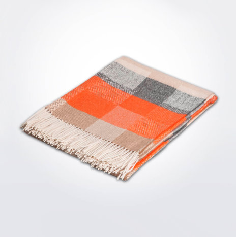 Patches Alpaca Throw