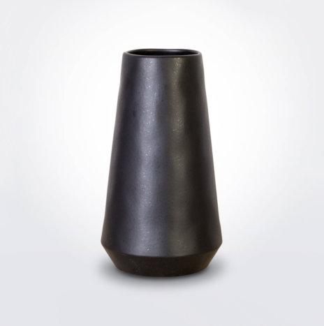 Black Vulcano Vase