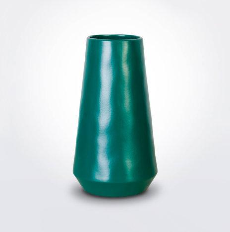 Green Vulcano Vase
