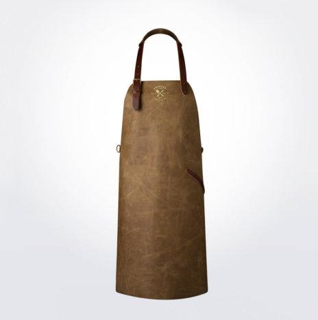 Vintage Sand Leather Apron