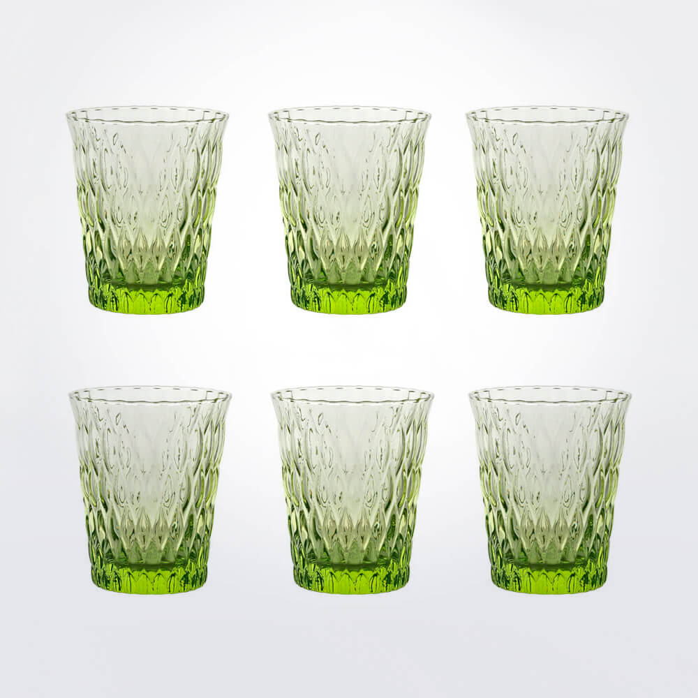 Acid-green-tumbler-set-1