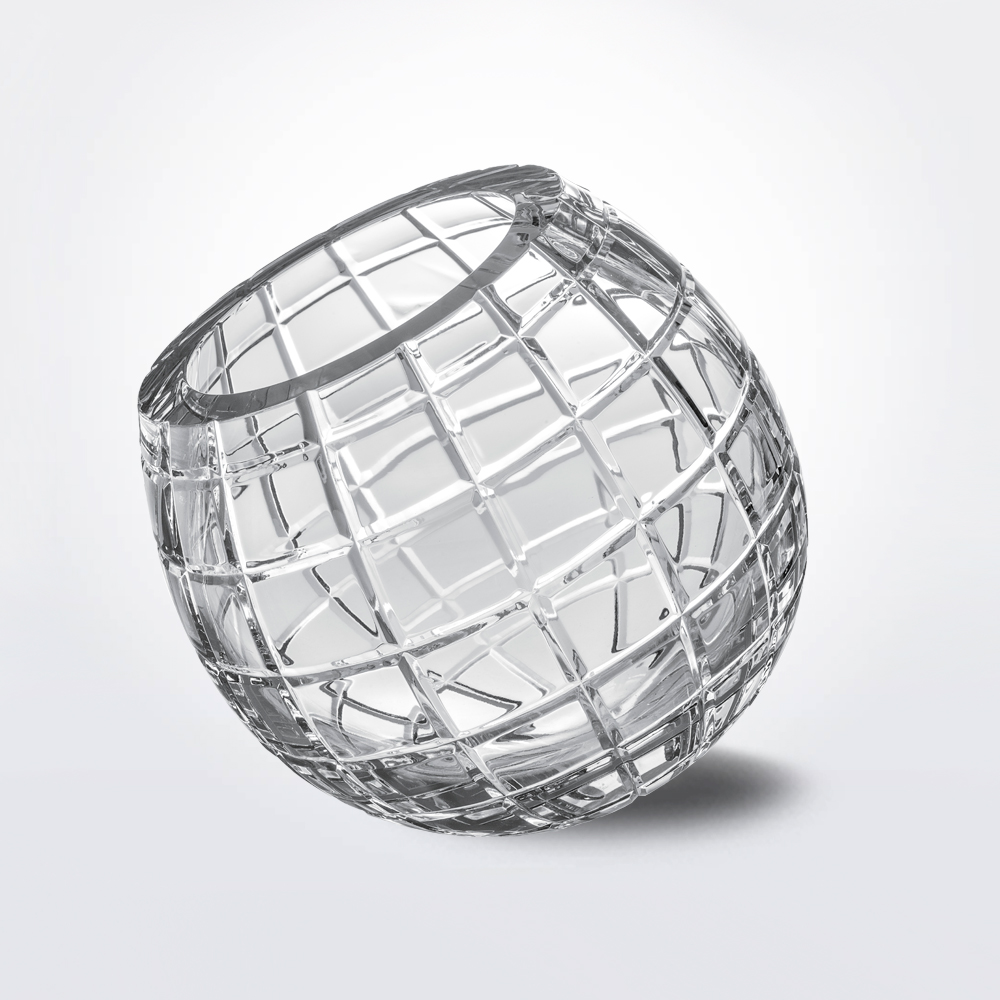 Biglie-grid-glass-vase