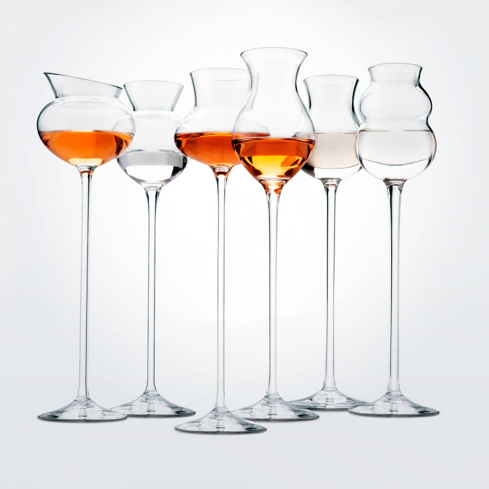 Distillates-assorted-glass-set