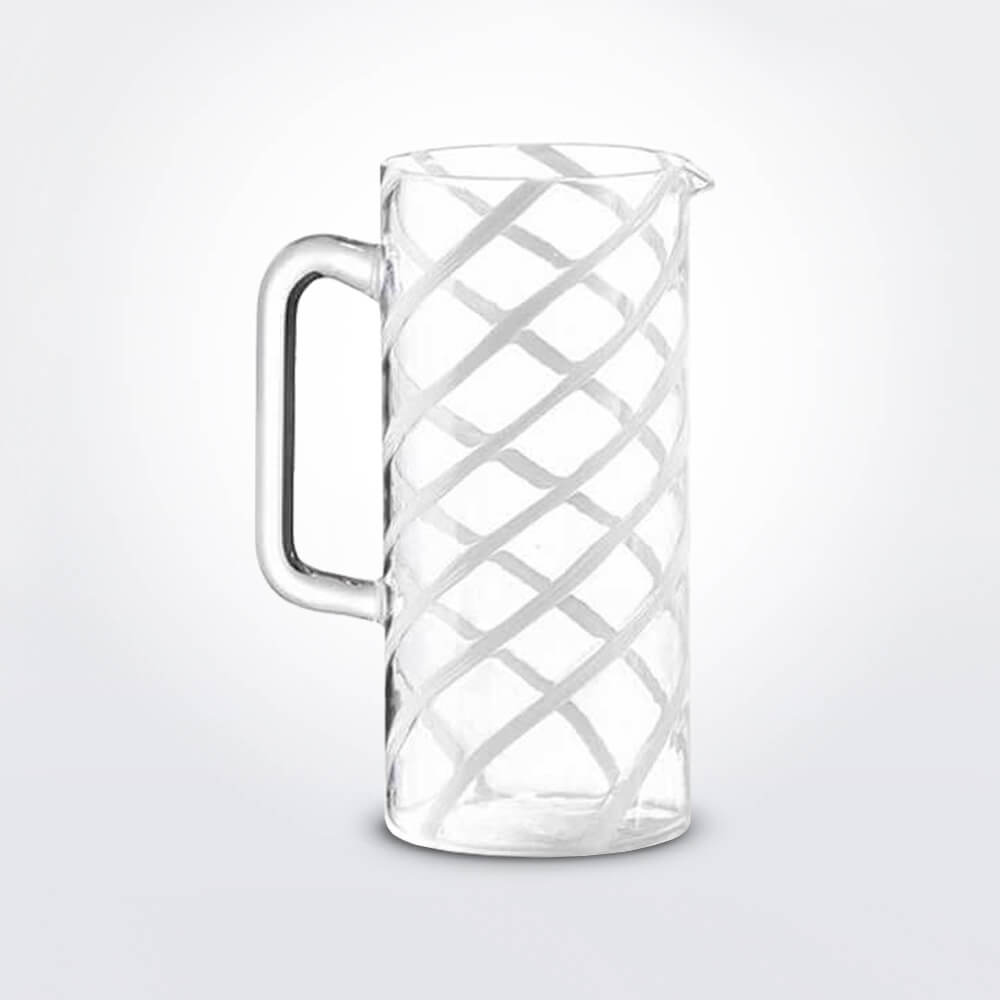Glass-white-spirale-carafe-1