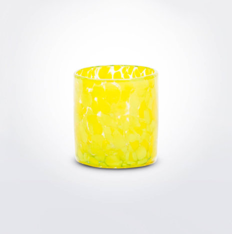 Yellow Confetti Shot Glass Set