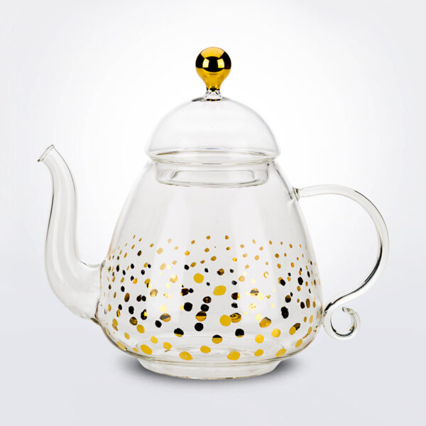 Lily teapot product picture.