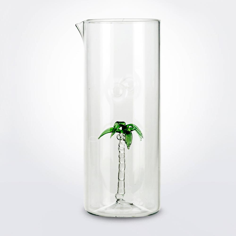 Palm-glass-jug