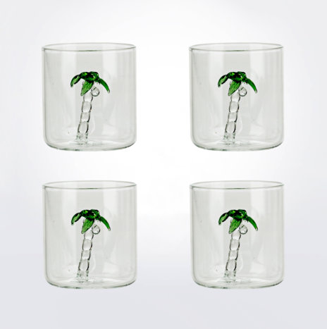 Palm Glass Set