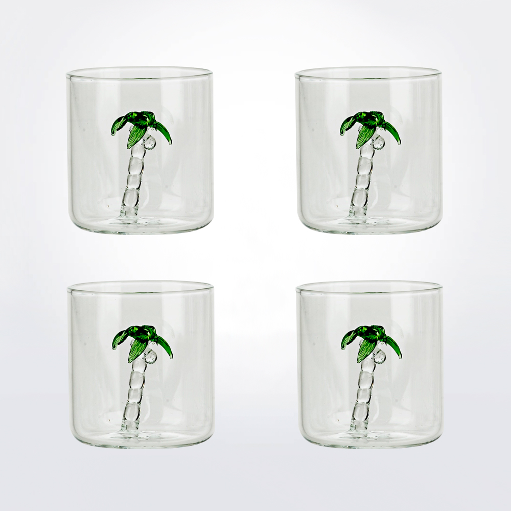 Palm-glass-set