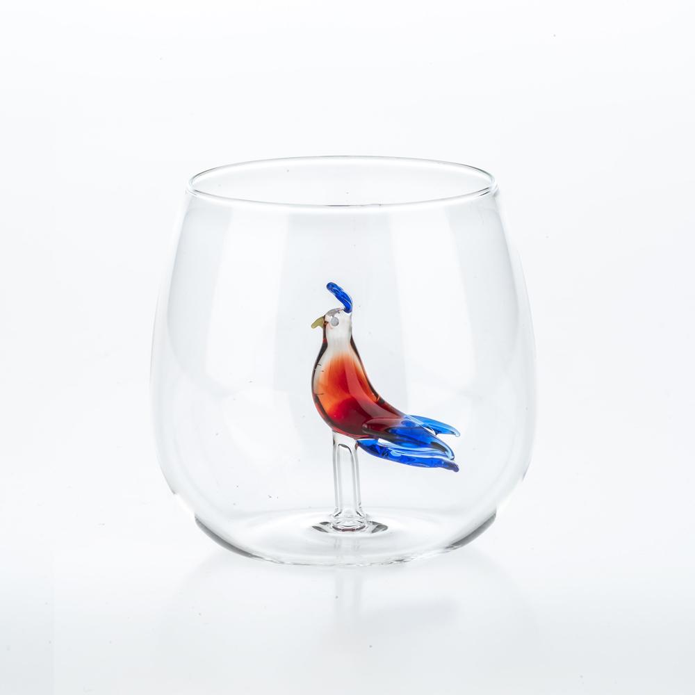 Tropical-bird-glass-set-4
