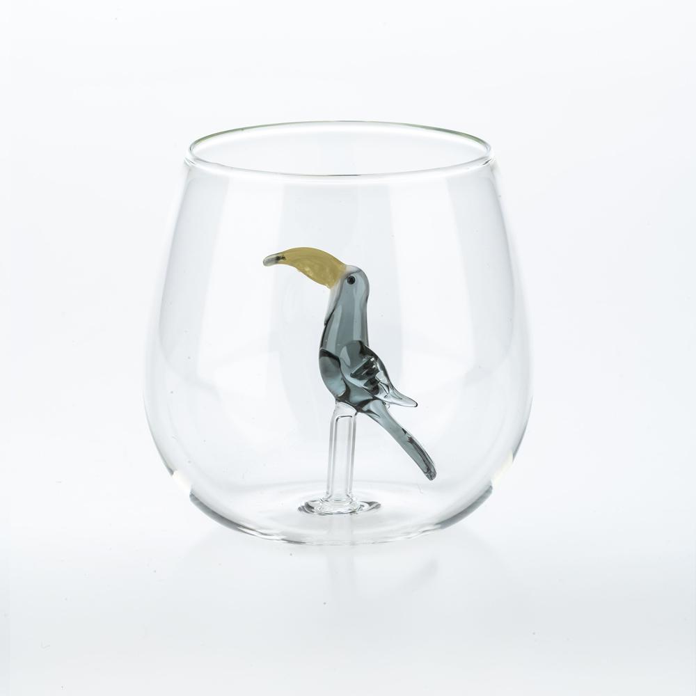 Tropical-bird-glass-set-5