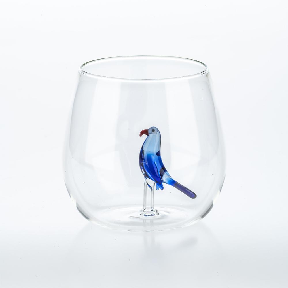 Tropical-bird-glass-set-7