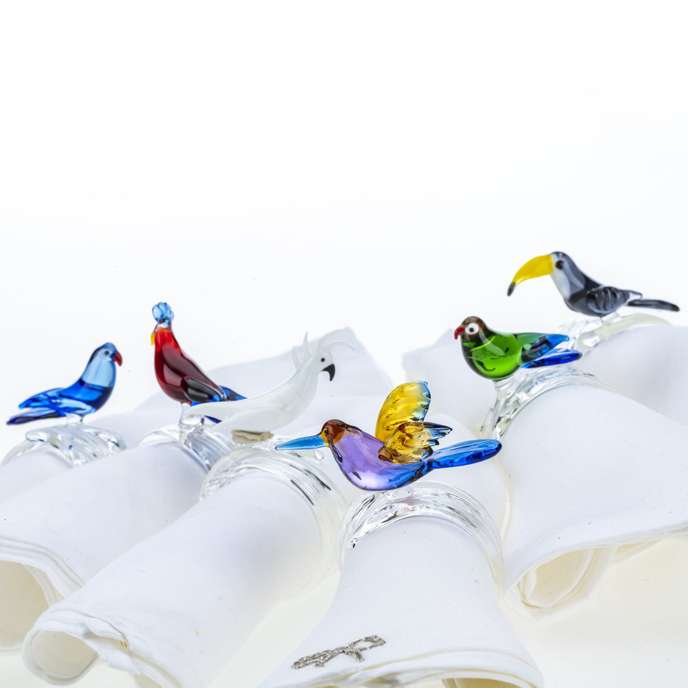 Tropical-bird-napkin-ring-set-3