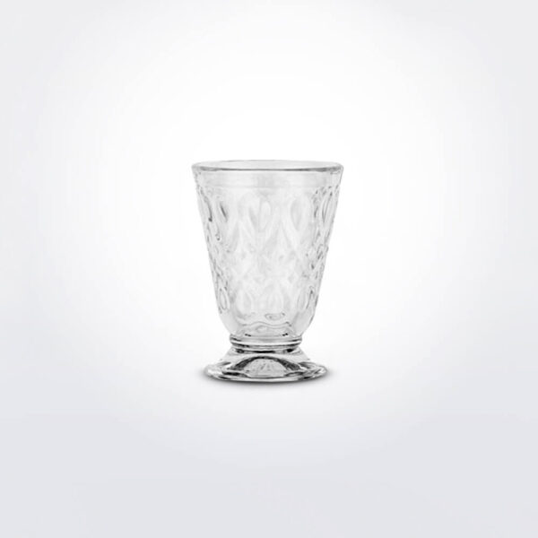 Vitral wine glass set.
