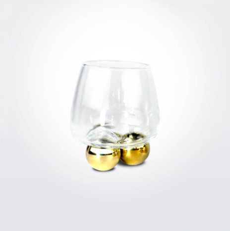 Whiskey Glass Ball Set
