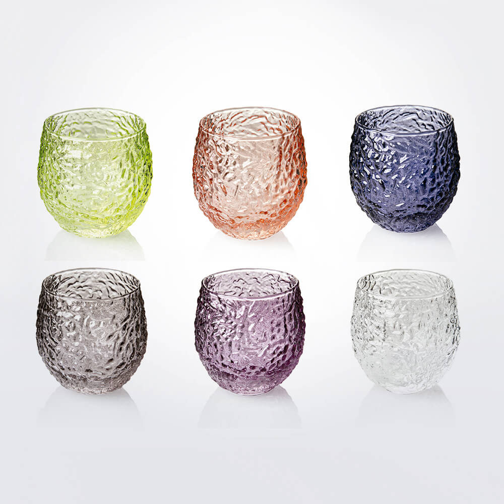 Wrinkled-colored-water-tumbler-set-1