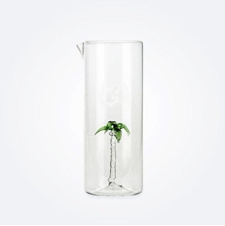 Palm Glass Jug