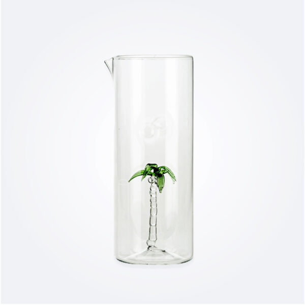 Palm glass jug product picture.