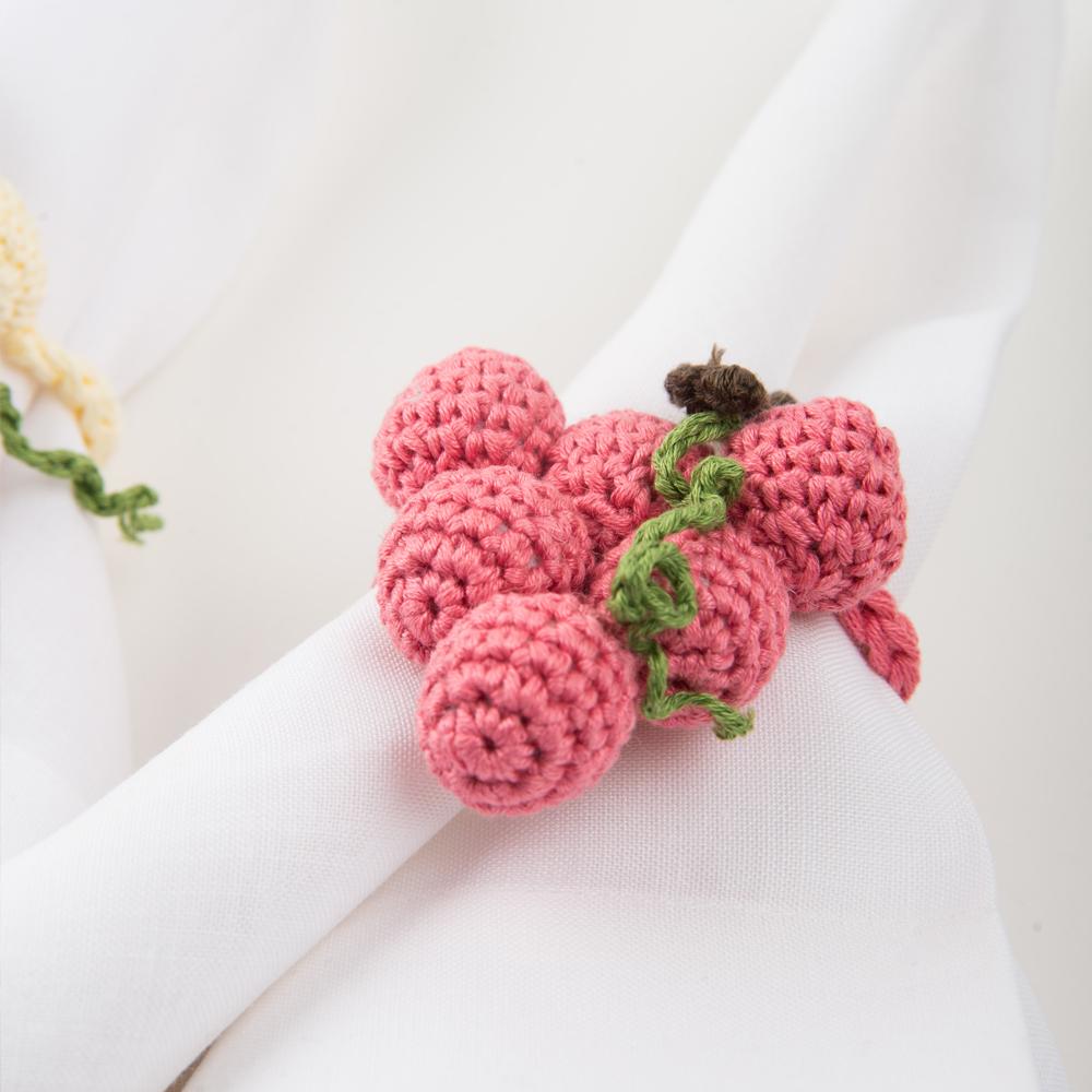 Crochet-grape-napkin-ring-set-I-2