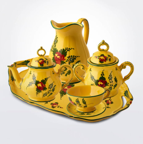 Giallo Fiore Coffee Service Set II
