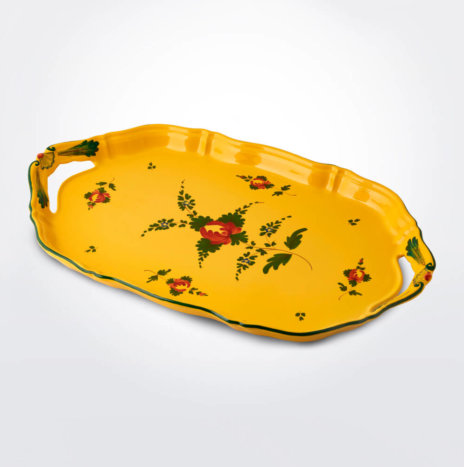 Oriente Italiano Giallo Serving Tray