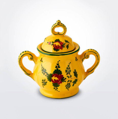 Oriente Italiano Giallo Sugar Pot