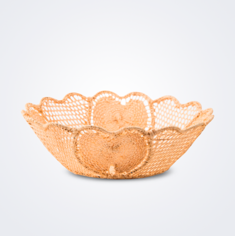 Raffia Tulipan Basket