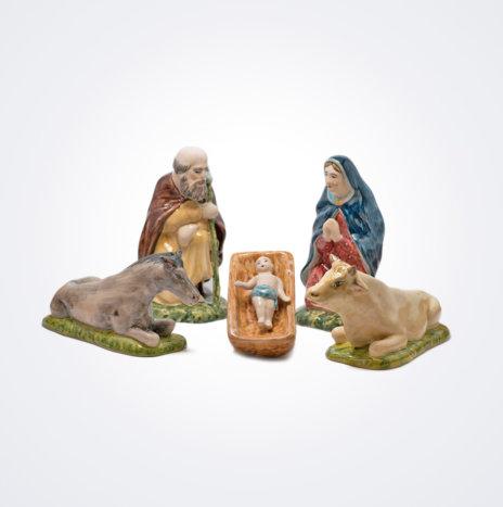Ceramic Christmas Nativity Set