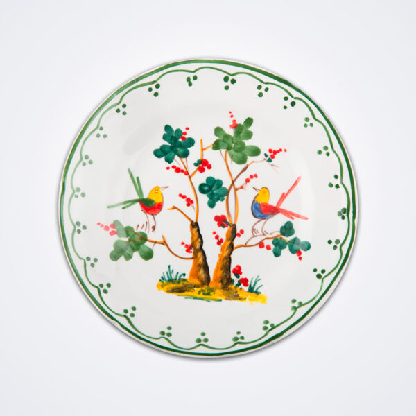 Bird motif fruit plate product picture.