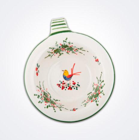 Bird Motif Pasta Bowl