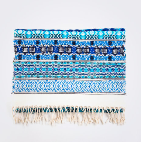 Blue Hues Table Runner