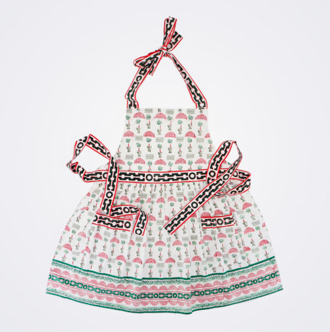 Christmas Topiary Apron