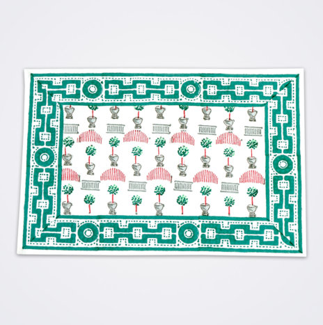 Christmas Topiary Placemat Set