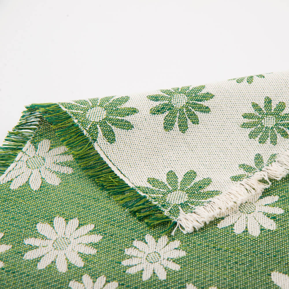 Daisy-flower-green-placemat-2