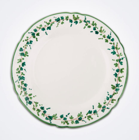 Green Ivy Charger Plate Set