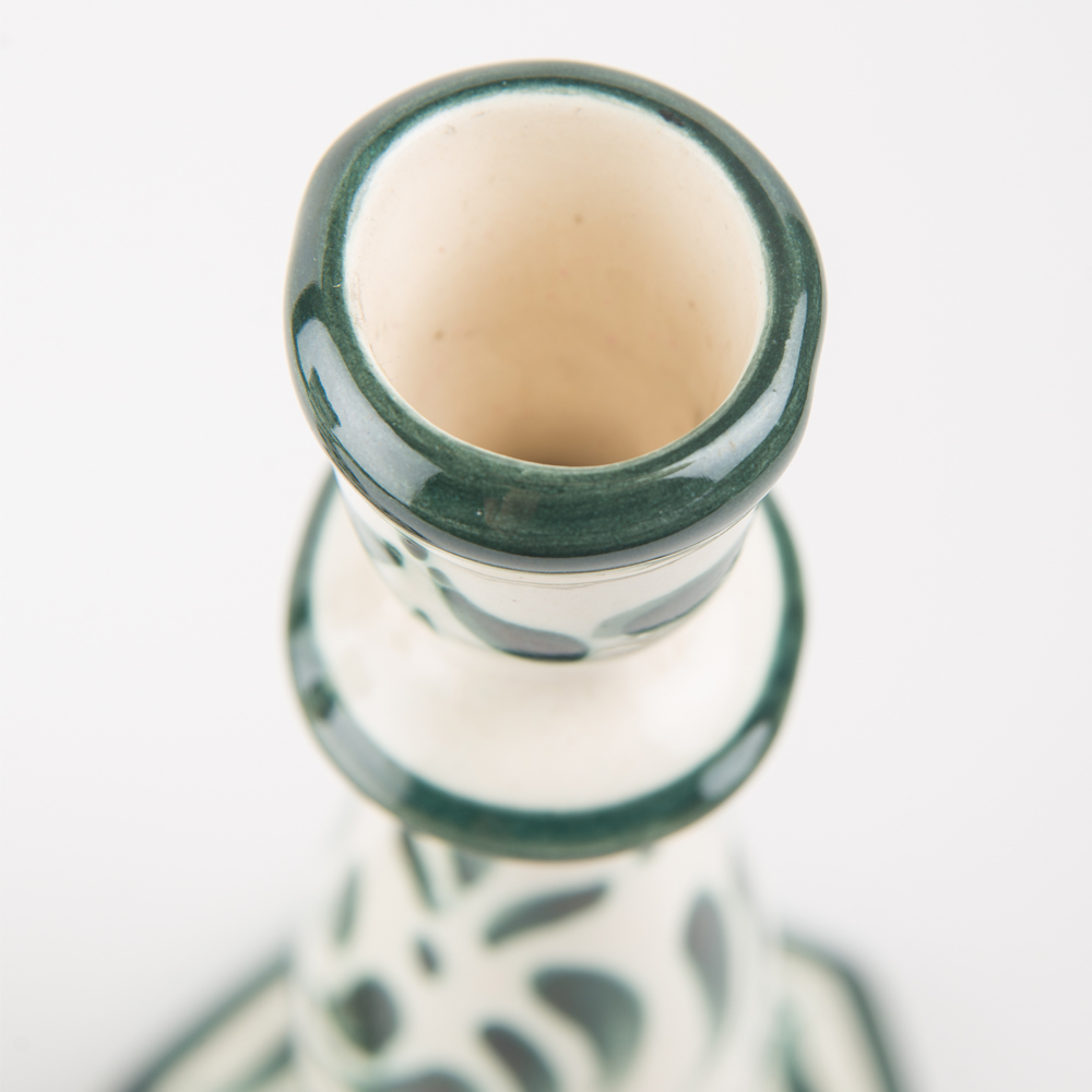 Handpainted-ceramic-candle holder-set-2