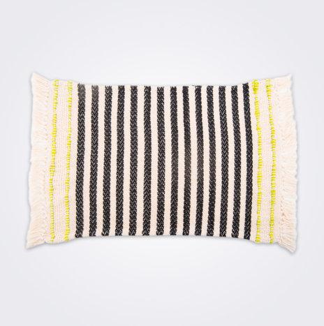 Striped Handwoven Cotton Placemat Set