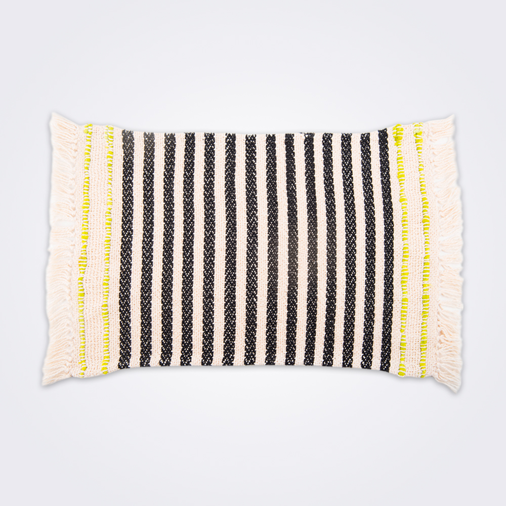 Handwoven-striped-cotton-placemat-set