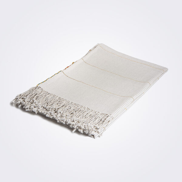 Mexican handwoven coverlet product picture.
