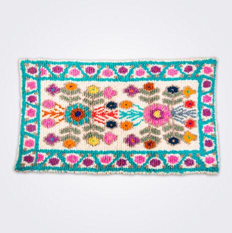 Multicolor Guatemalan Rug