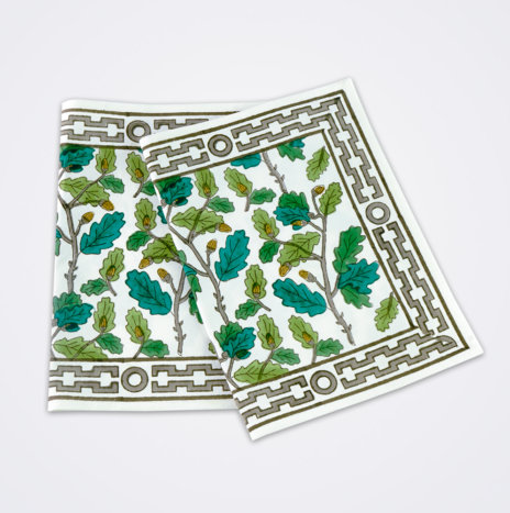 Oak Leaf Motif Placemat Set